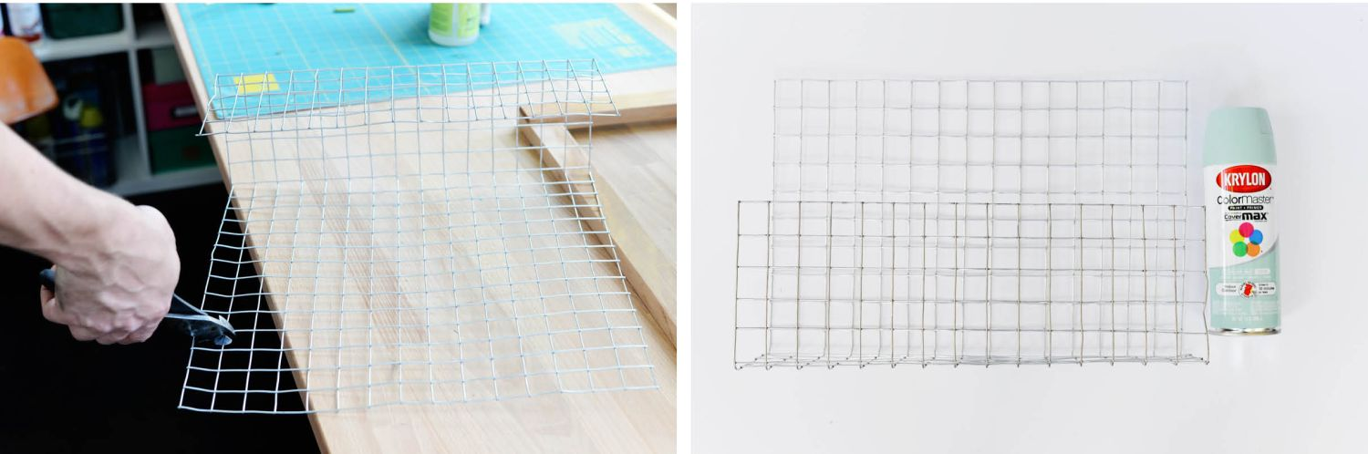 DIY Wire Desk Organizer-Tutorial C