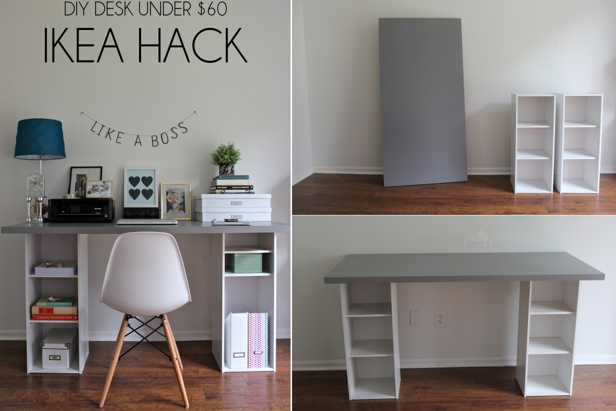 Superb Desk Ideas Part - 6: DIY Desk Designs You Can Customize To Suit Your Style