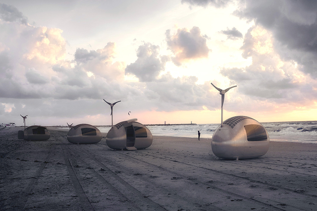 Ecocapsule Portable House Design
