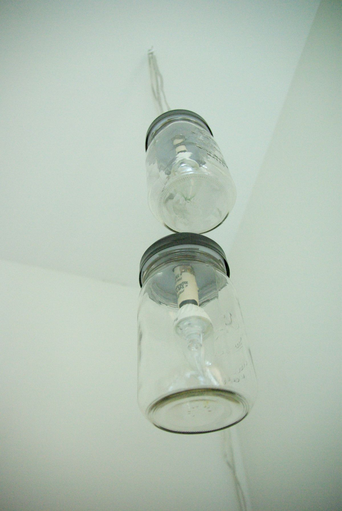 How to create a mason jar chandelier