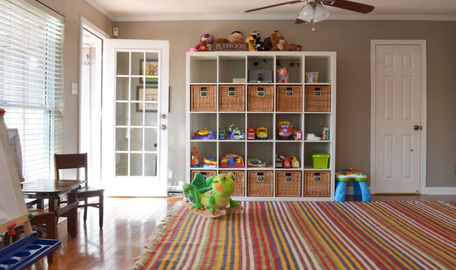 Charmant Ikea Expedit Toys Area For Storage