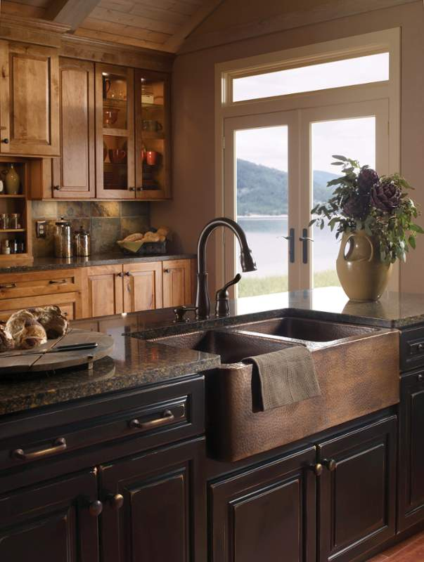 Farmers Kitchen Sink When and how to add a copper farmhouse sink to a kitchen workwithnaturefo