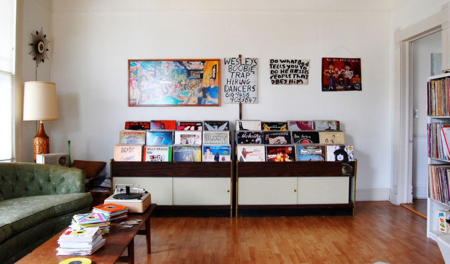 Simple And Classy Ways To Store Your Vinyl Record Collection