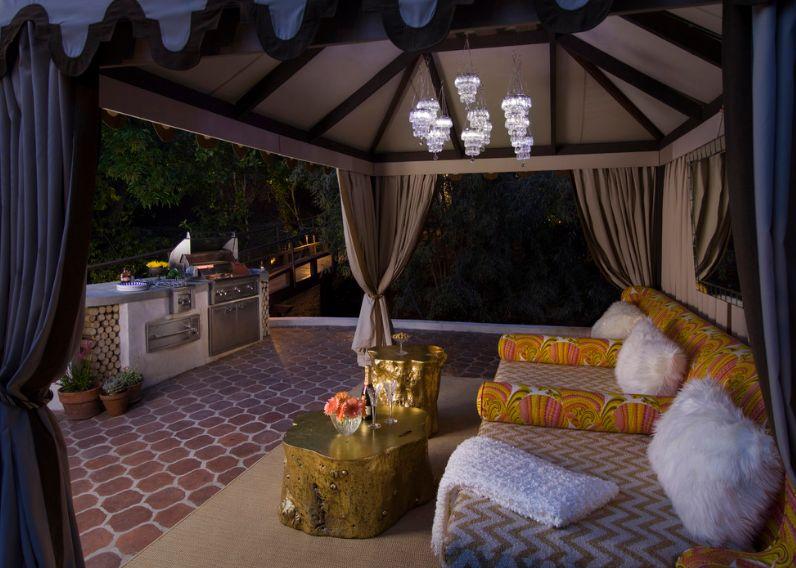 Luxuriöse Cabana
