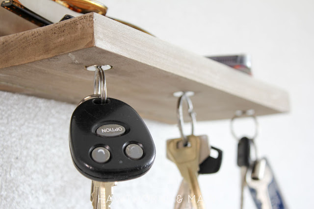 Magnetic key chain holder
