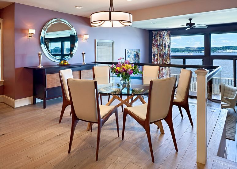 Glass Dining Room Table Decor round glass dining tables that make a stylish impression