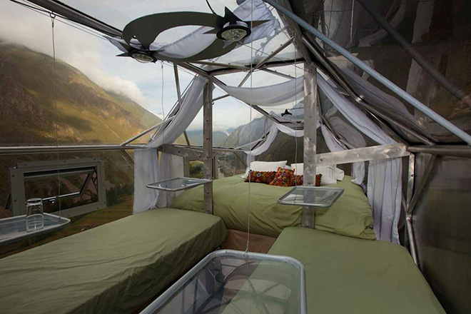 Sacred Valley of Cuzcoo Peru Capsule Beds