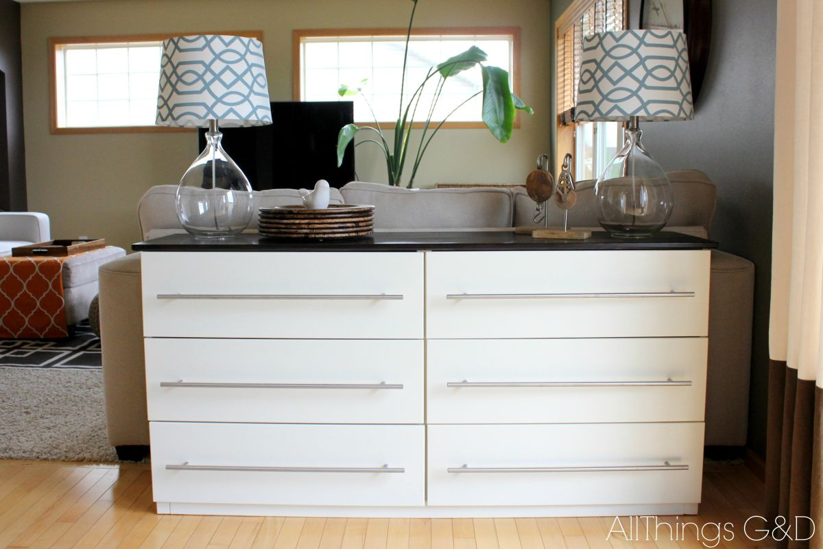Tarva 6-drawer dresser makeover