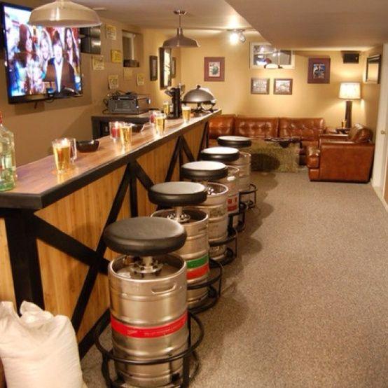 Turn some old beer barrel