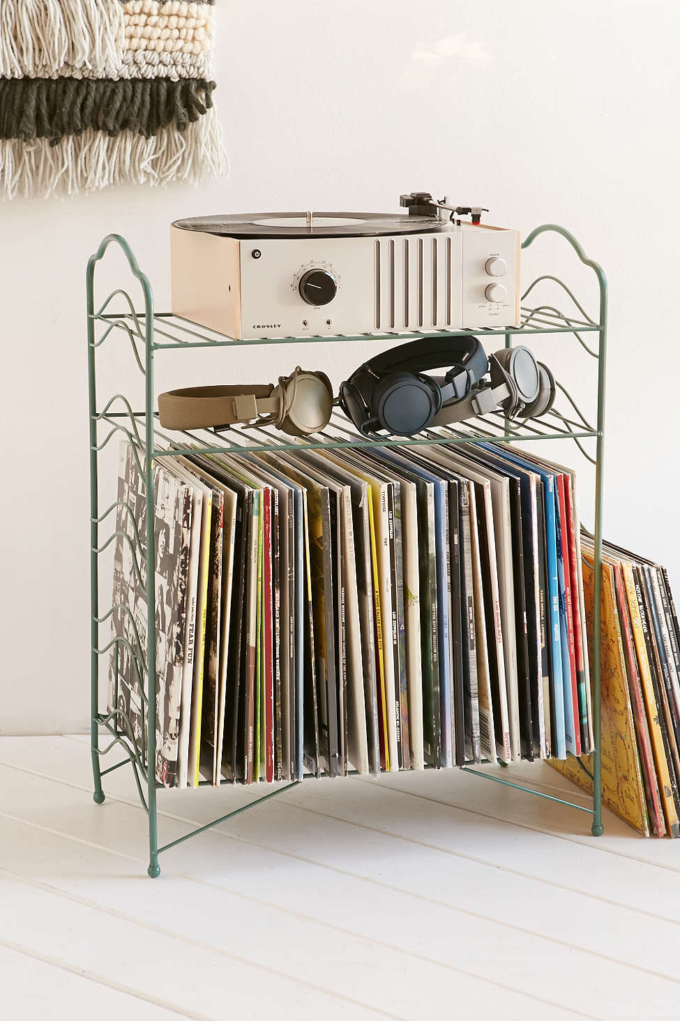 Beau Vinyl Record Storage Shelf