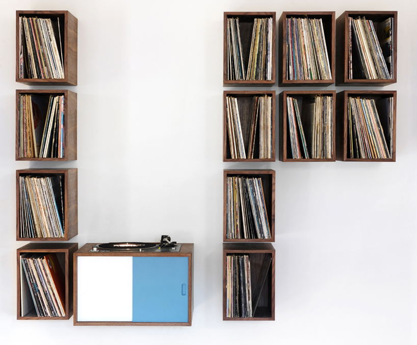 Delicieux Vinyl Record Storage Media