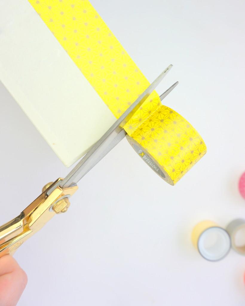 Washi-Tape-Decorative-Boxes-Yellow