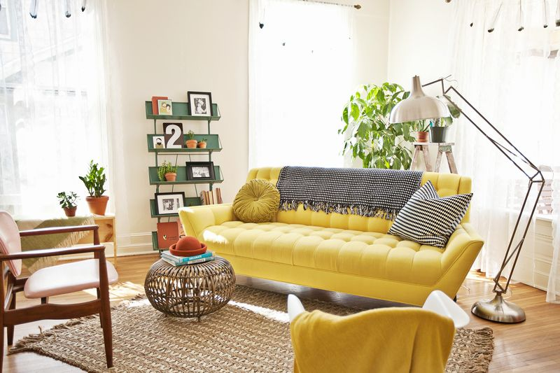 Yellow Cleveland Sofa