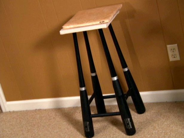 Baseball Stool Chair