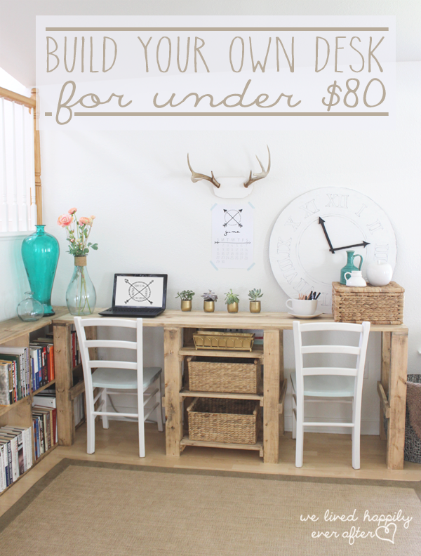 build your own desk for under $80