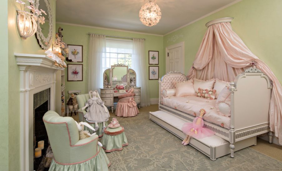 7 Inspiring Kid Room Color Options For Your Little Ones: Turning A Room Into A Princess' Lair