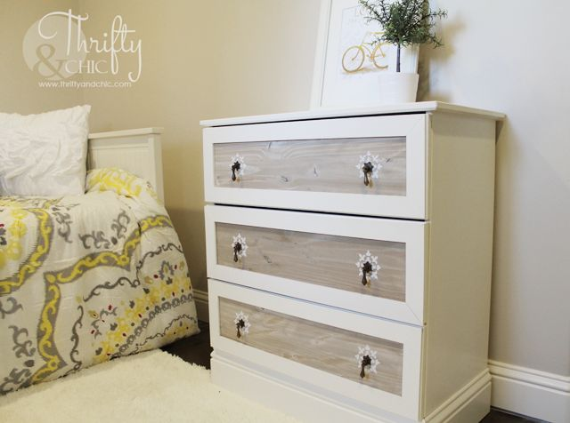 White ikea dresser hacks and transformations for Meuble a langer ikea