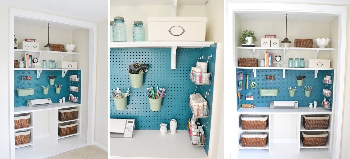 Exceptionnel Closet Pegboard