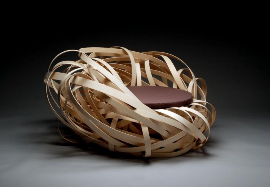 Kokon-Nest-Stuhl