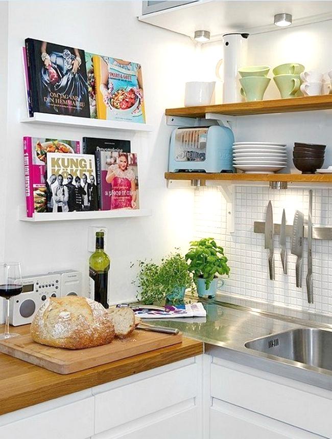 cookbook ledge