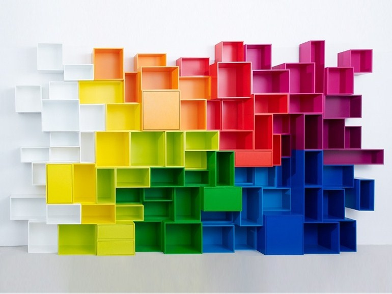 cube-colorful-storage-wall