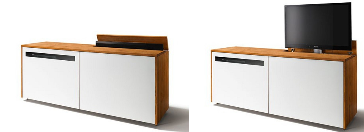 Cubus Retractable Media Console