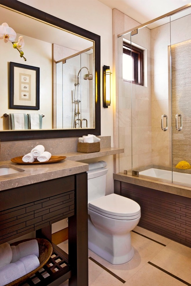 custom bathroom counter with shelf toilet - Bathroom Decorating Ideas For Over The Toilet