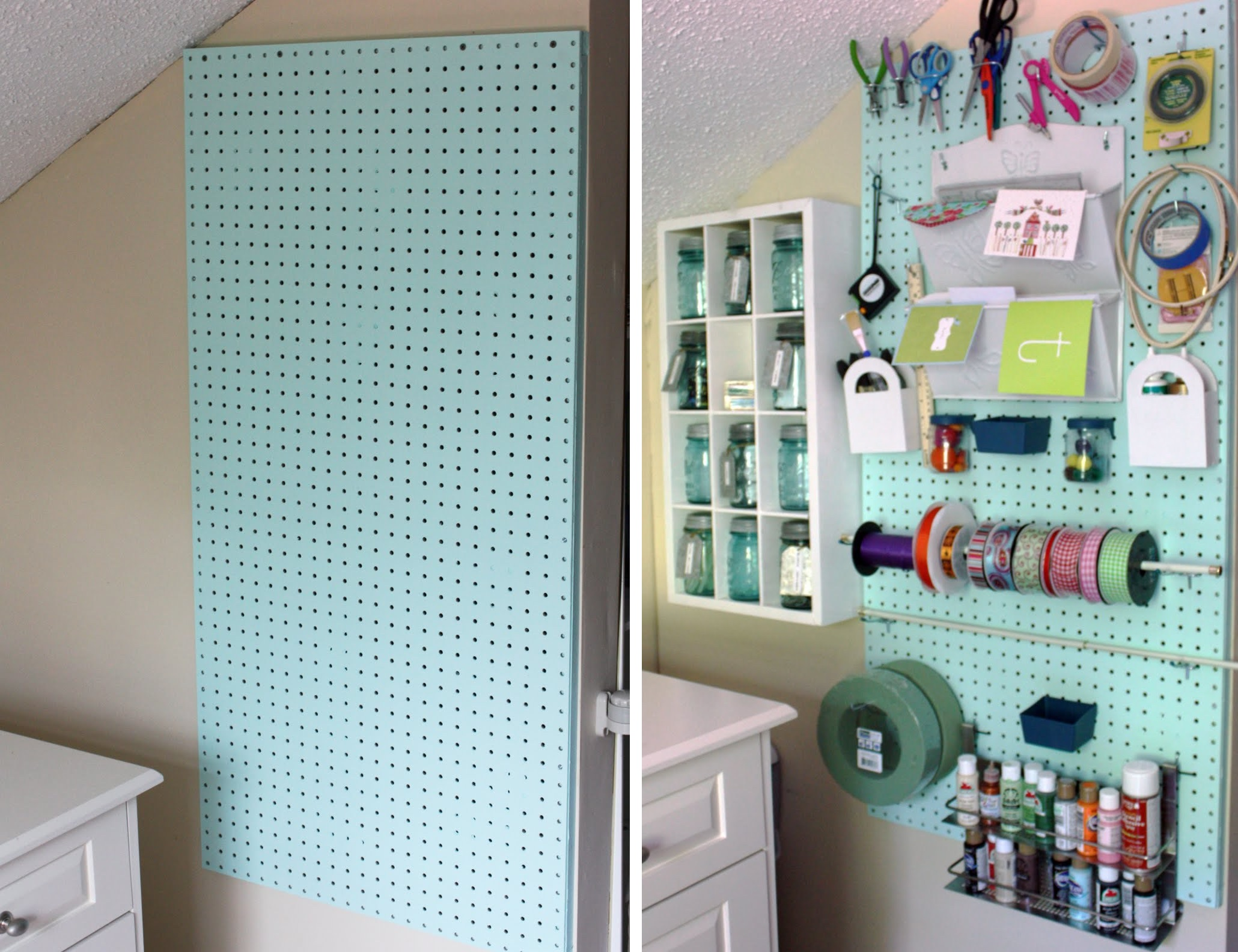 Customize The Pegboard According