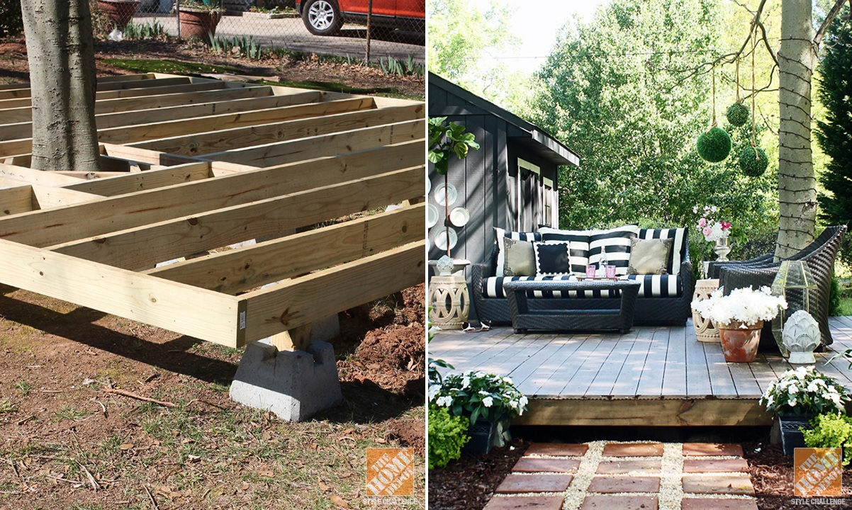 Diy A Floating Deck For Patio