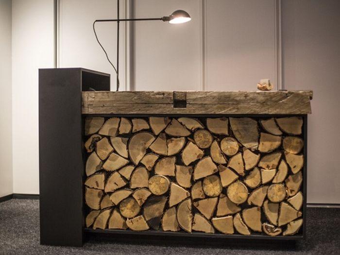 Unusual Desks reception desks that advertise their unique and unusual designs