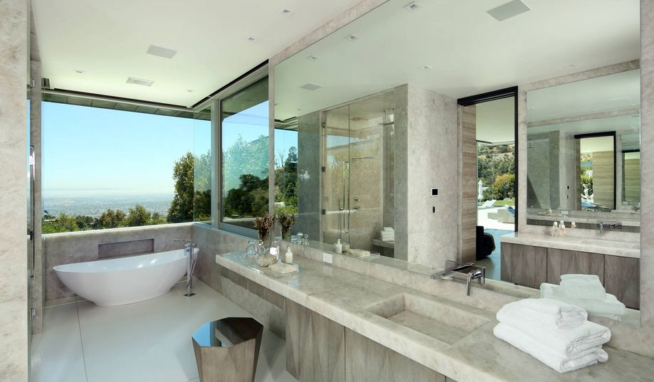 Charmant Full Marble Bathroom Design View In Gallery