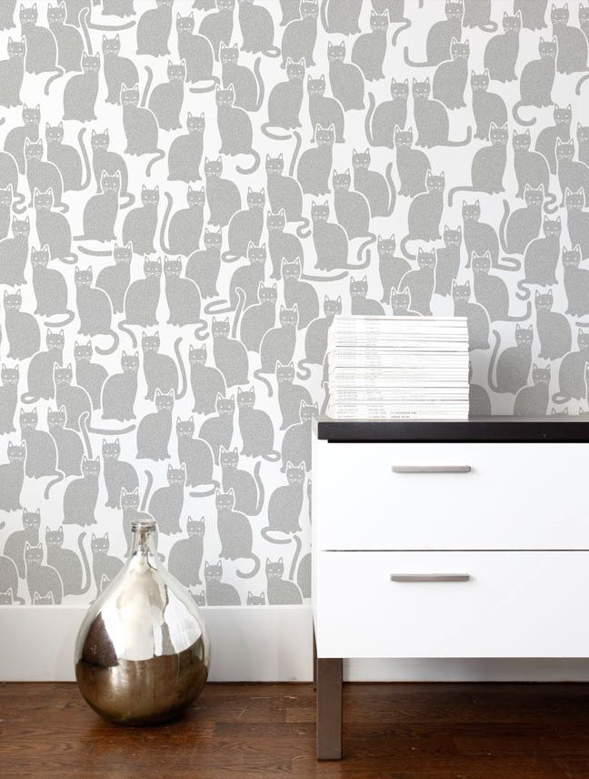 glimmer cat - Wallpaper House Decor