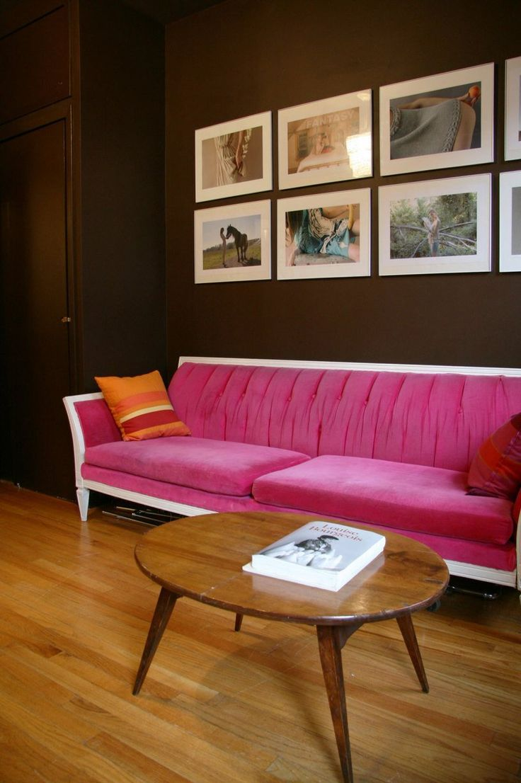 Colorful Couches Help You Bold