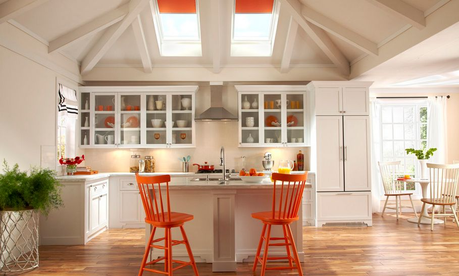 Kitchen With A Splash Of Color