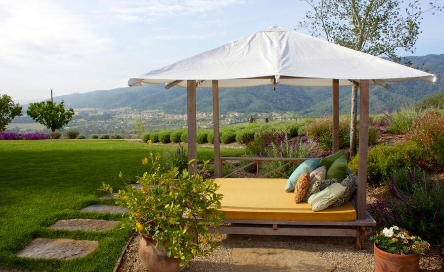 landscape tiny spot & 20 Stylish Outdoor Canopies For the Home