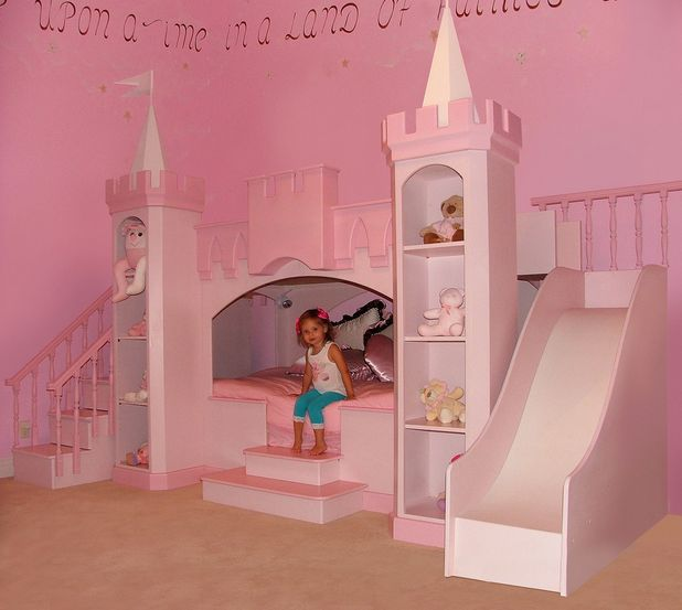 little-princess-castle-room