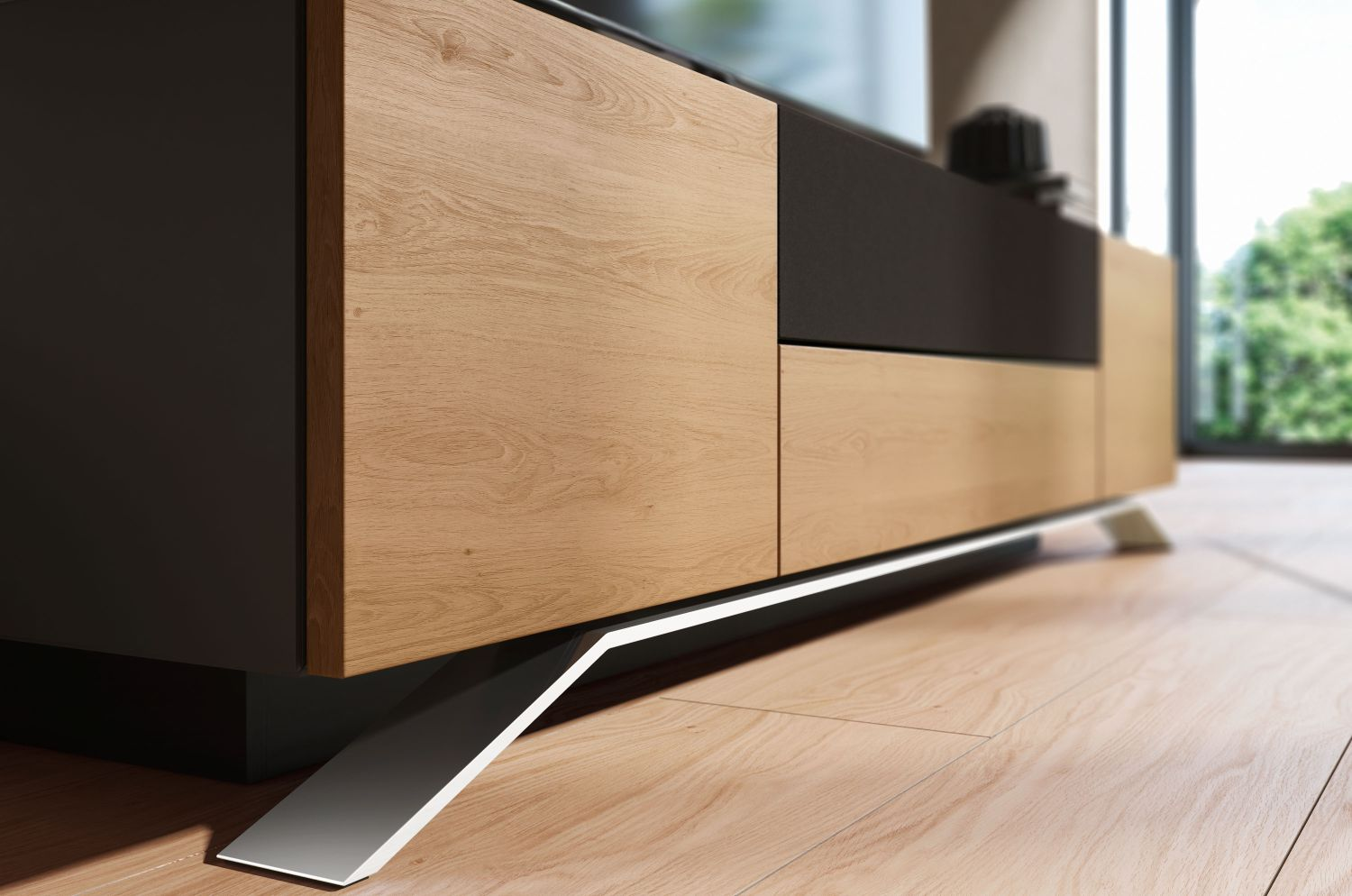 Modern Media Console Designs Showcasing This Styles Best