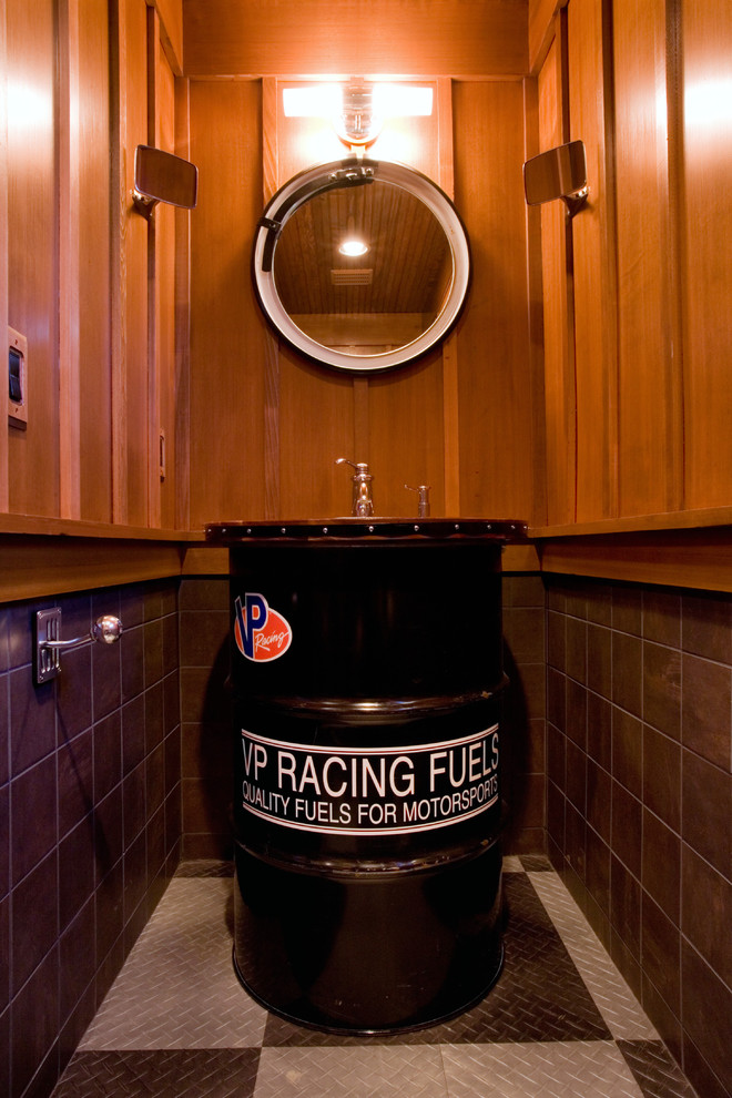 harley davidson garage decorating ideas - 50 Tips and Ideas For a Successful Man Cave Decor