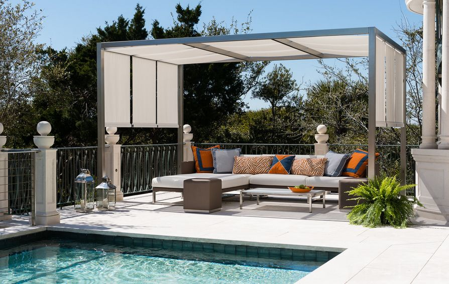 Completely Chic & 20 Stylish Outdoor Canopies For the Home