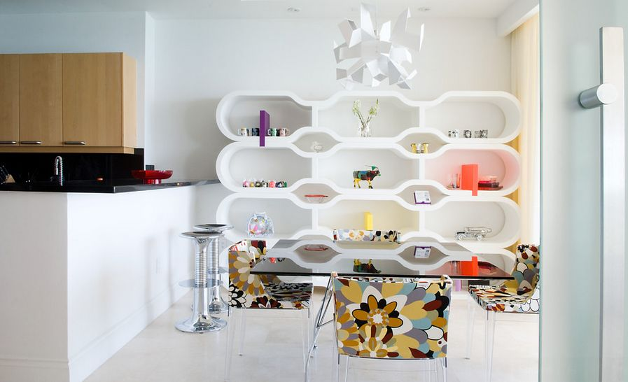 modern-white-shelves-honeycomb-style