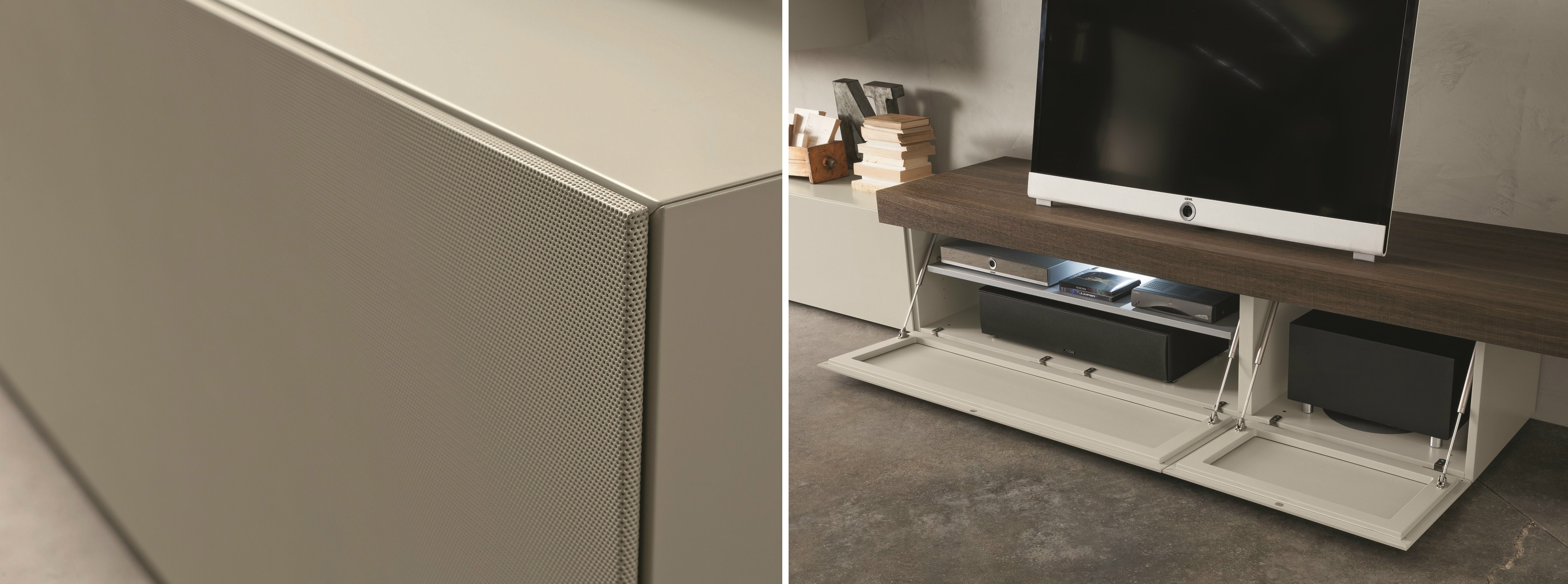 Modulart Lacquered Metal Cabinet