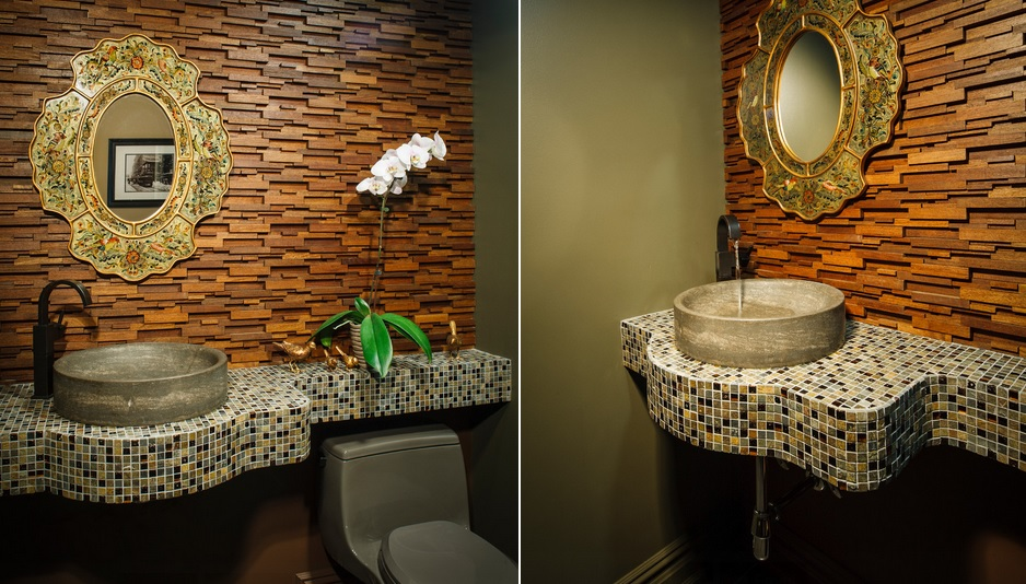 mosaic bathroom countertop shelf toilet