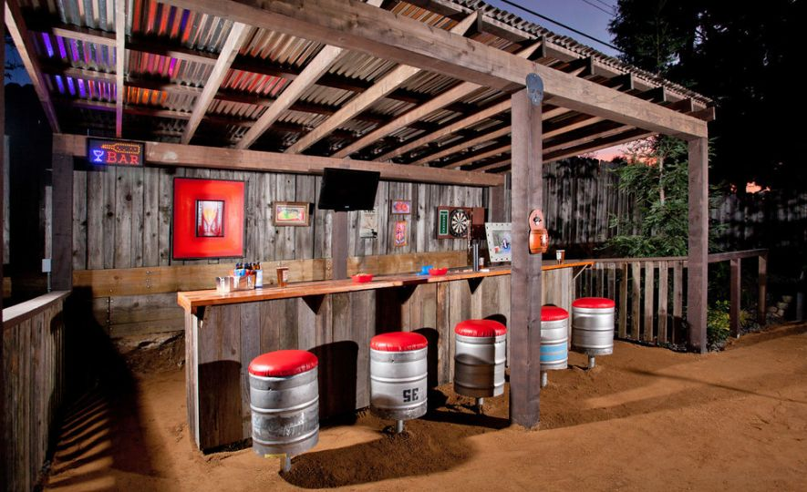 Outdoor Patio Man Cave