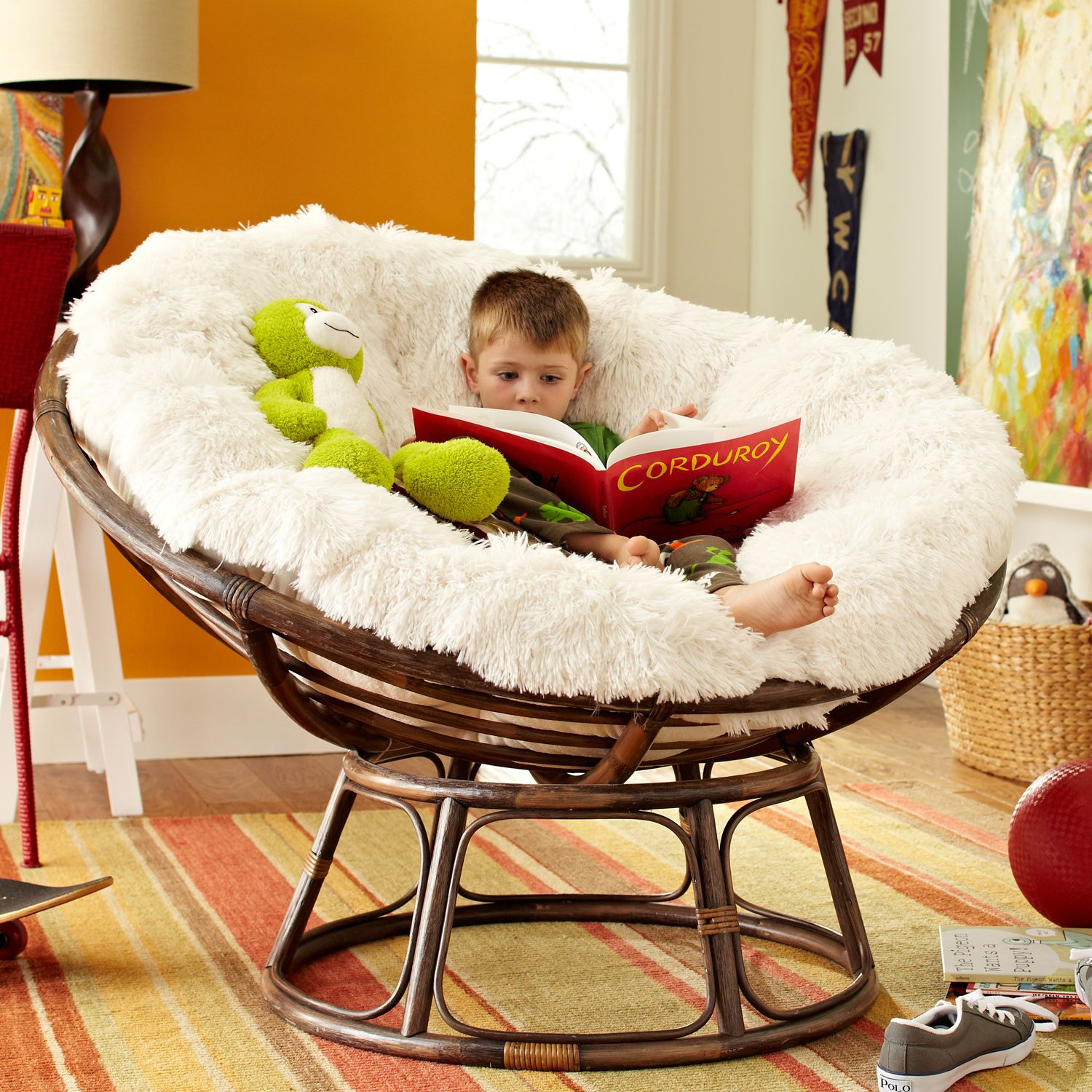 Papasan Nest Chair For Kids