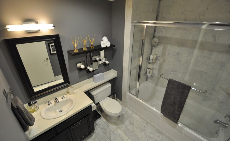 particular shelf for toilet and storage areas - Bathroom Decorating Ideas For Over The Toilet