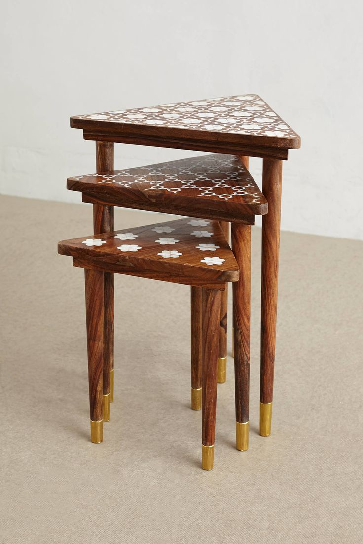 patterned tables