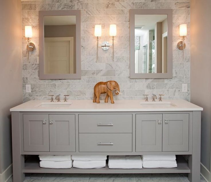 double vanity sinks for small bathrooms. personal touches 10 Tips for Perfect Double Vanity Styling