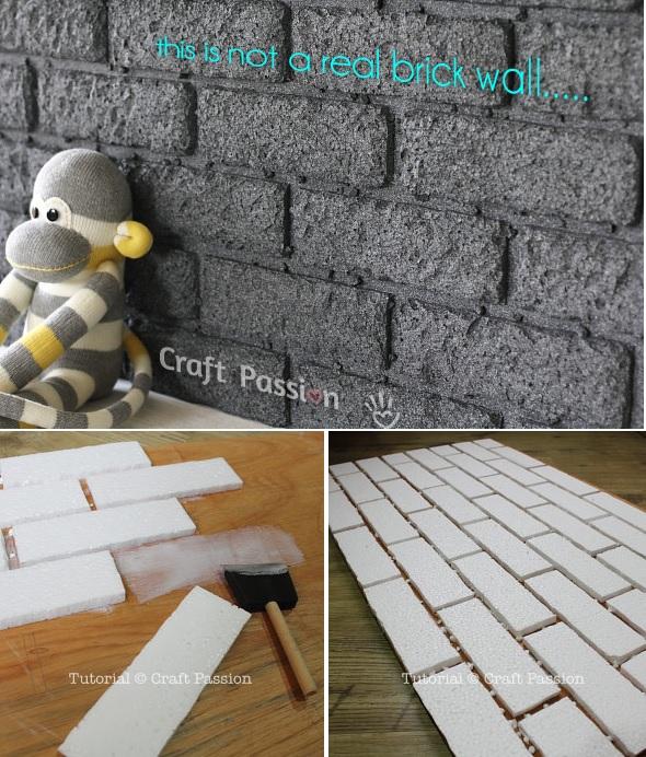 polystyrene foam or Styrofoam