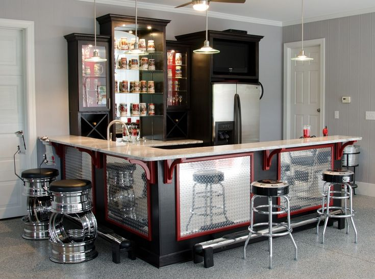 50 tips and ideas for a successful man cave decor residence garage bar solutioingenieria Image collections