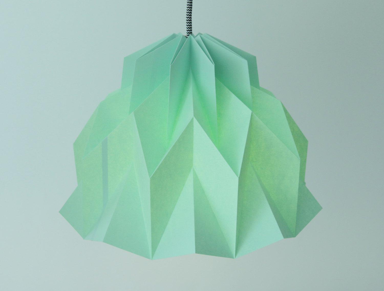 Rüschen-Origami-Papierlampe